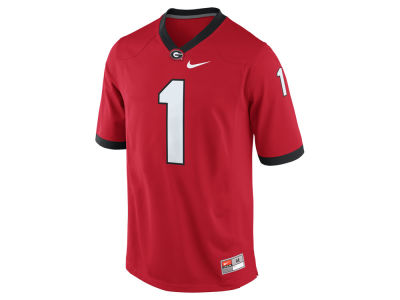 Georgia Bulldogs #1 Nike NCAA Replica Football Game Jersey