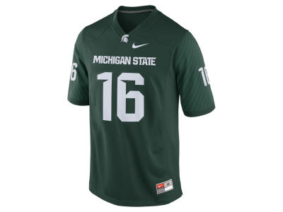 Michigan State Spartans #16 Nike NCAA Replica Football Game Jersey