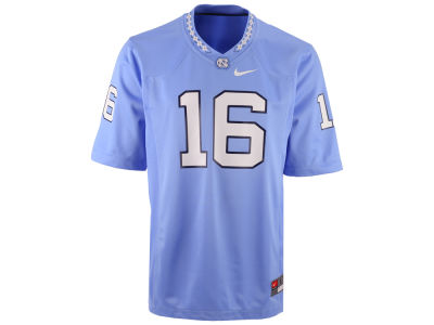 North Carolina Tar Heels #16 Nike NCAA Replica Football Game Jersey