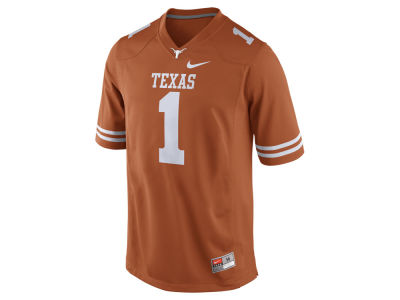 Texas Longhorns #1 Nike NCAA Replica Football Game Jersey