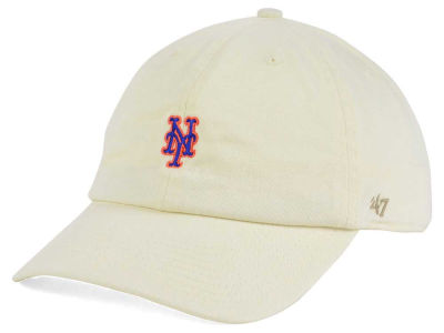 New York Mets '47 MLB Base Runner Natural '47 CLEAN UP Cap
