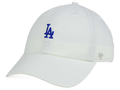 Los Angeles Dodgers '47 MLB Base Runner White '47 CLEAN UP Cap