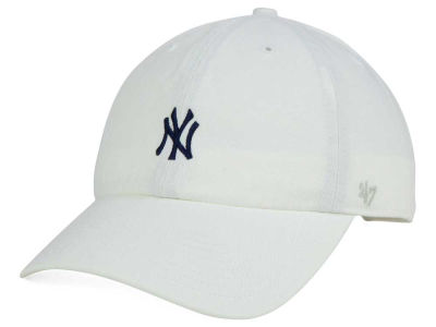 New York Yankees '47 MLB Base Runner White '47 CLEAN UP Cap