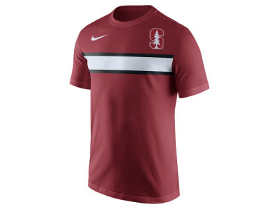 Stanford Cardinal Nike NCAA Men's Cotton Team Stripe T-Shirt