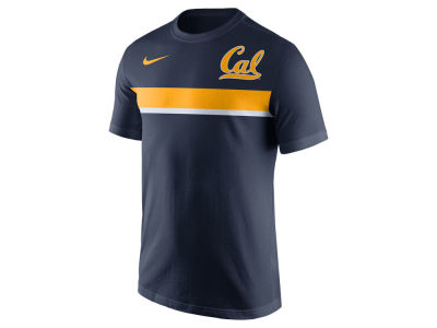 California Golden Bears Nike NCAA Men's Cotton Team Stripe T-Shirt