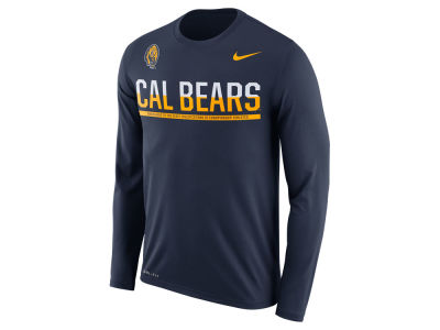 California Golden Bears Nike NCAA Men's Legend Staff Sideline Long Sleeve T-Shirt