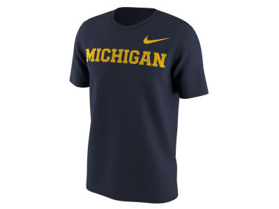 Michigan Wolverines Nike NCAA Men's Benassi Cotton T-Shirt