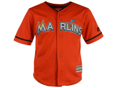 Miami Marlins MLB Toddler Blank Replica Cool Base Jersey