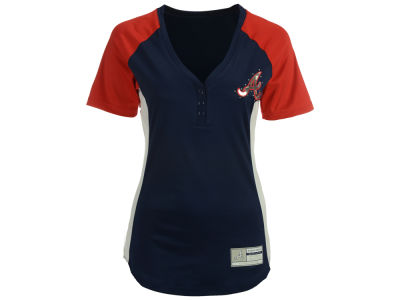 Atlanta Braves Majestic MLB Women's League Diva T-Shirt