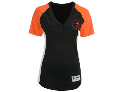 Baltimore Orioles Majestic MLB Women's League Diva T-Shirt
