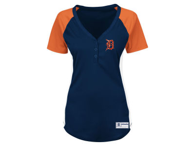 Detroit Tigers Majestic MLB Women's League Diva T-Shirt