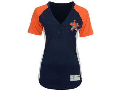 Houston Astros Majestic MLB Women's League Diva T-Shirt