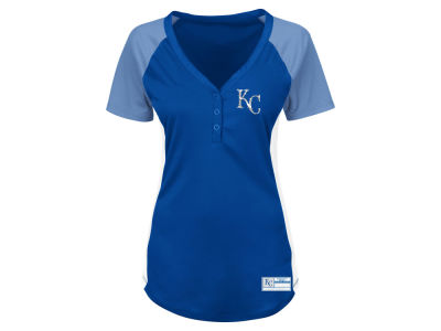 Kansas City Royals Majestic MLB Women's League Diva T-Shirt