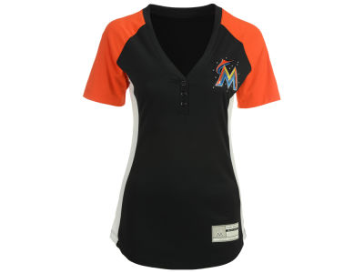 Miami Marlins MLB Women's League Diva T-Shirt