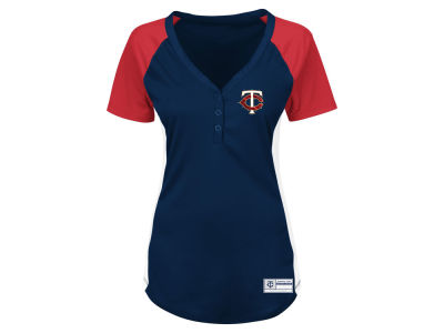 Minnesota Twins Majestic MLB Women's League Diva T-Shirt