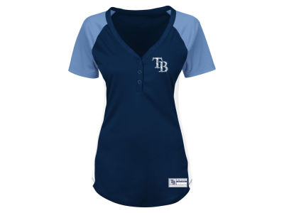 Tampa Bay Rays Majestic MLB Women's League Diva T-Shirt