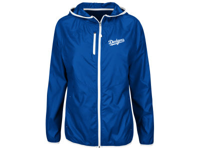 Los Angeles Dodgers Majestic MLB Women's Windbreaker Jacket