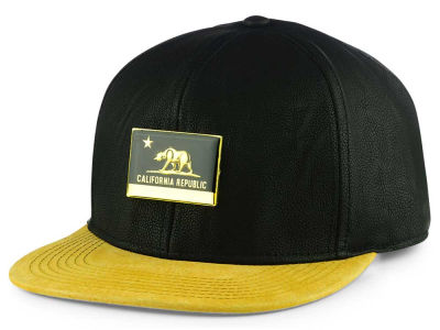Official Cali Metal Leather Strapback Cap