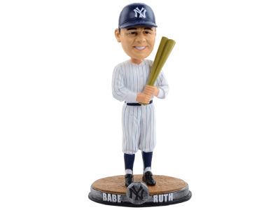 New York Yankees Babe Ruth Forever Collectibles Clubhouse Bobblehead