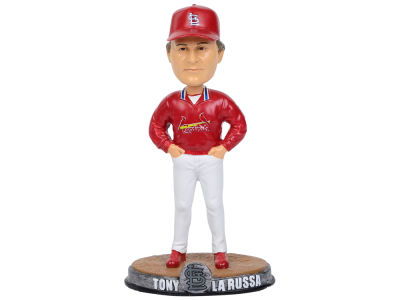 St. Louis Cardinals Tony LaRussa Forever Collectibles Clubhouse Bobblehead