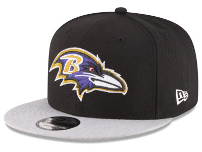 Baltimore Ravens New Era NFL Heather Vize 9FIFTY Snapback Cap
