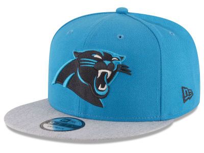 Carolina Panthers New Era NFL Heather Vize 9FIFTY Snapback Cap