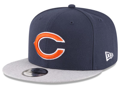 Chicago Bears New Era NFL Heather Vize 9FIFTY Snapback Cap
