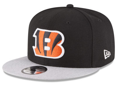 Cincinnati Bengals New Era NFL Heather Vize 9FIFTY Snapback Cap