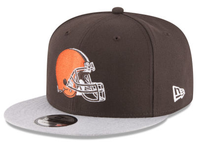 Cleveland Browns New Era NFL Heather Vize 9FIFTY Snapback Cap