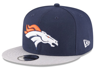 Denver Broncos New Era NFL Heather Vize 9FIFTY Snapback Cap