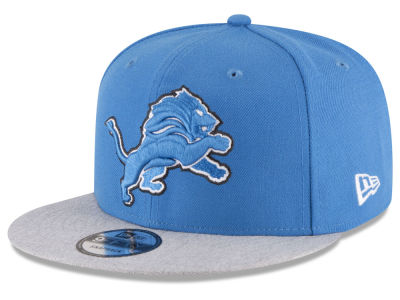 Detroit Lions New Era NFL Heather Vize 9FIFTY Snapback Cap