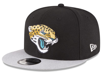 Jacksonville Jaguars New Era NFL Heather Vize 9FIFTY Snapback Cap