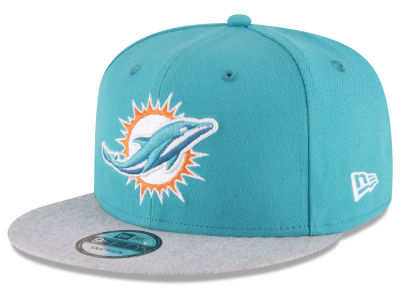 Miami Dolphins New Era NFL Heather Vize 9FIFTY Snapback Cap