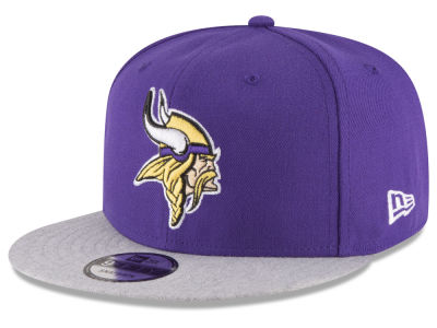 Minnesota Vikings New Era NFL Heather Vize 9FIFTY Snapback Cap
