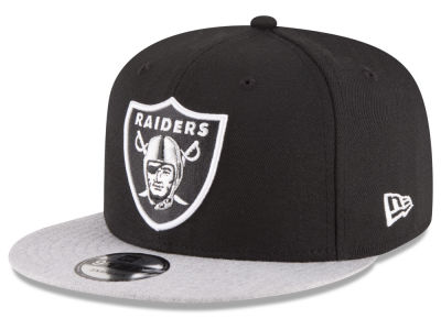 Oakland Raiders New Era NFL Heather Vize 9FIFTY Snapback Cap