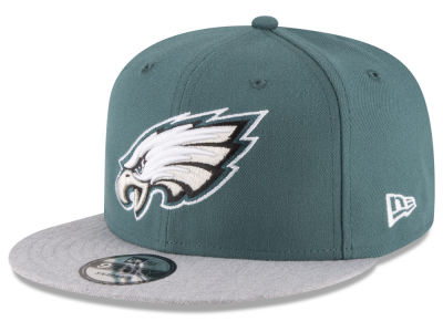 Philadelphia Eagles New Era NFL Heather Vize 9FIFTY Snapback Cap