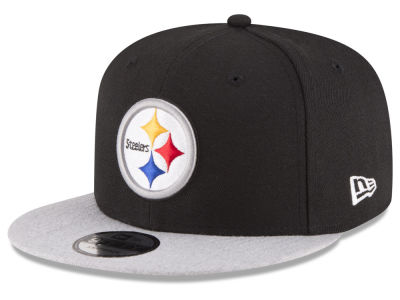 Pittsburgh Steelers New Era NFL Heather Vize 9FIFTY Snapback Cap