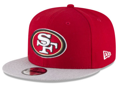 San Francisco 49ers New Era NFL Heather Vize 9FIFTY Snapback Cap