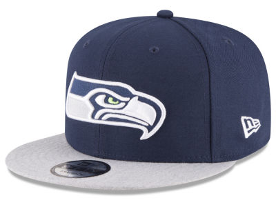 Seattle Seahawks New Era NFL Heather Vize 9FIFTY Snapback Cap