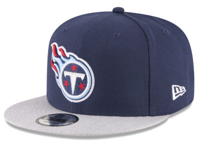 Tennessee Titans New Era NFL Heather Vize 9FIFTY Snapback Cap