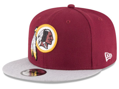 Washington Redskins New Era NFL Heather Vize 9FIFTY Snapback Cap