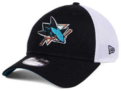 San Jose Sharks New Era NHL Neo 39THIRTY Cap