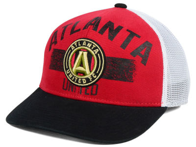 Atlanta United FC adidas MLS Truckn Adjustable Cap