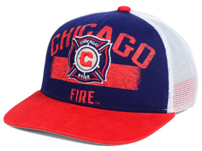 Chicago Fire adidas MLS Truckn Adjustable Cap