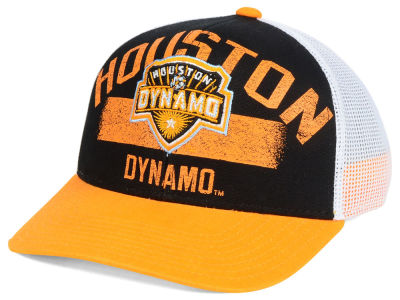 Houston Dynamo adidas MLS Truckn Adjustable Cap