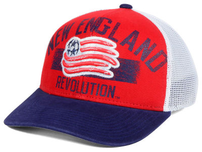 New England Revolution adidas MLS Truckn Adjustable Cap