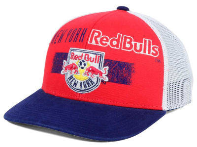 New York Red Bulls adidas MLS Truckn Adjustable Cap