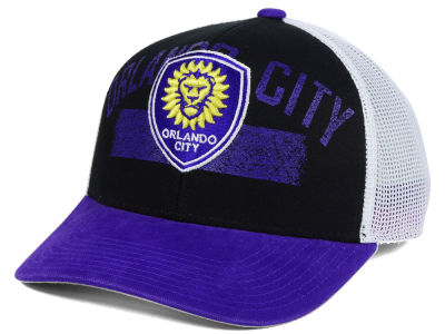 Orlando City SC adidas MLS Truckn Adjustable Cap