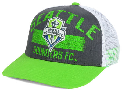 Seattle Sounders FC adidas MLS Truckn Adjustable Cap