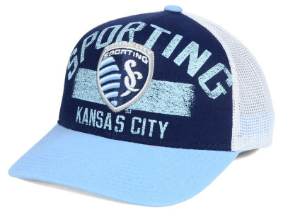 Sporting Kansas City adidas MLS Truckn Adjustable Cap